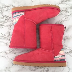 Bright Pink Classic Ugg Boots
